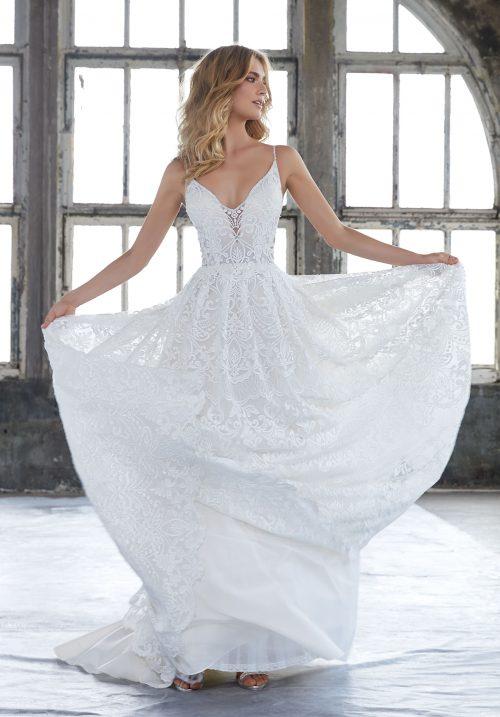 Mori lee 8204 Kasey wedding dress