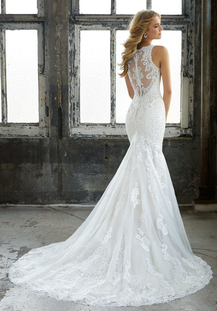 Mori lee 8205 Krista wedding dress