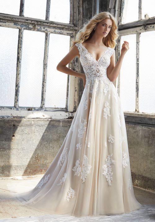 Mori lee 8206 Kennedy wedding dress