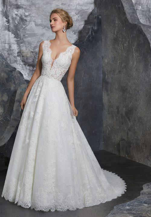 Mori lee 8208 Kelly wedding dress