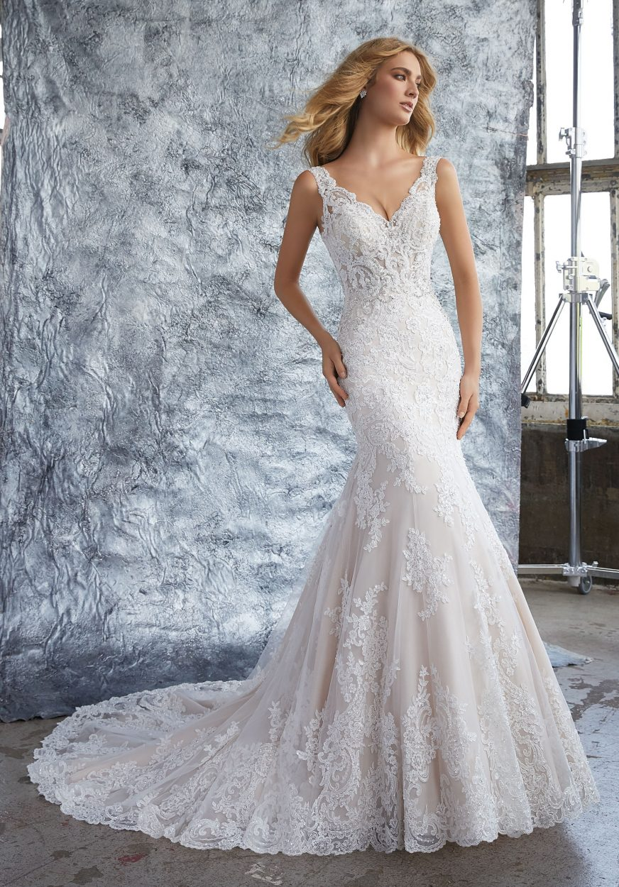 Mori lee 8212 Kristina wedding dress - Catrinas Bridal