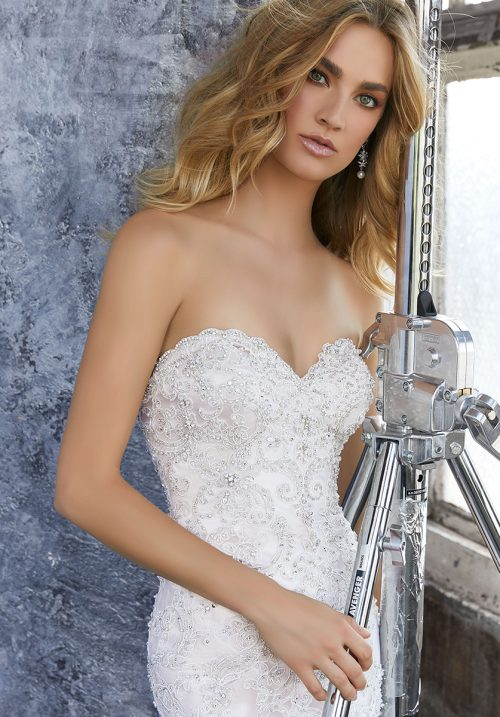 Mori lee Kourtney wedding dress