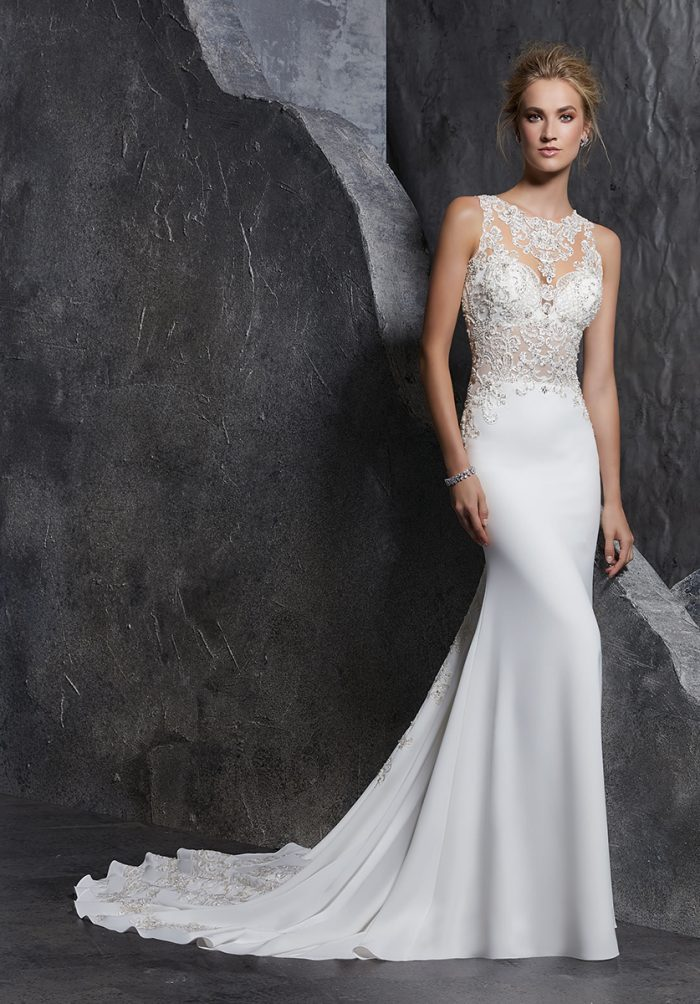 Mori lee 8223 Koko wedding dress