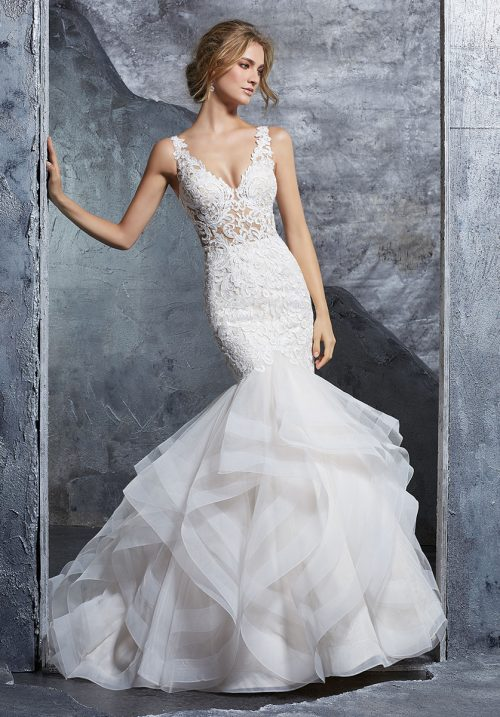 Mori lee 8224 Kayla wedding dress