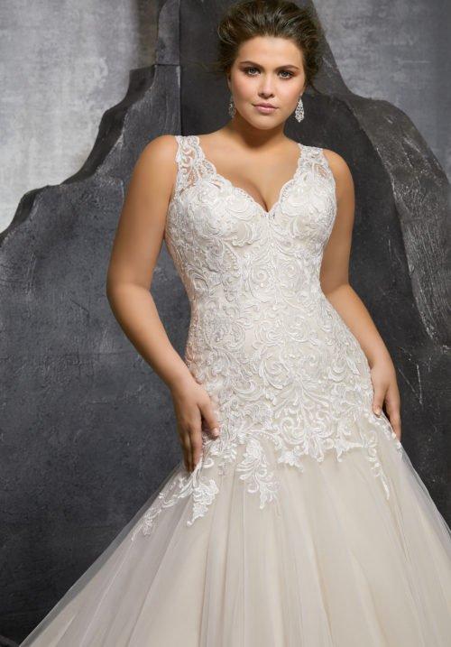 Morilee Kesara Wedding Dress style number 3236
