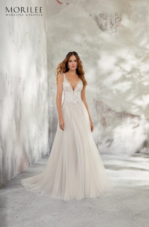 Morilee Leonita Wedding Dress style number 5681