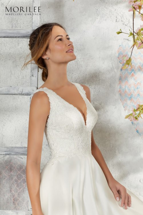 Morilee Laurie Wedding Dress style number 5684