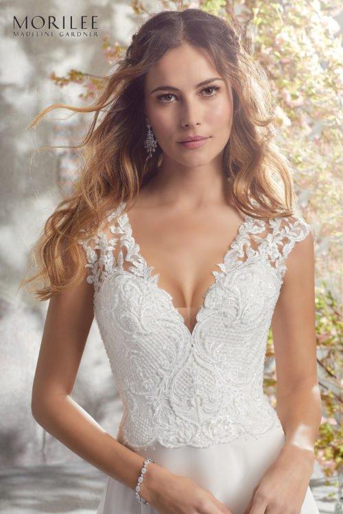 Morilee Lark Wedding Dress style number 5694