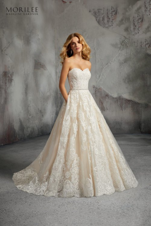 Morilee Lisa Wedding Dress style number 8273