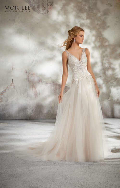 Morilee Luana Wedding Dress style number 8277