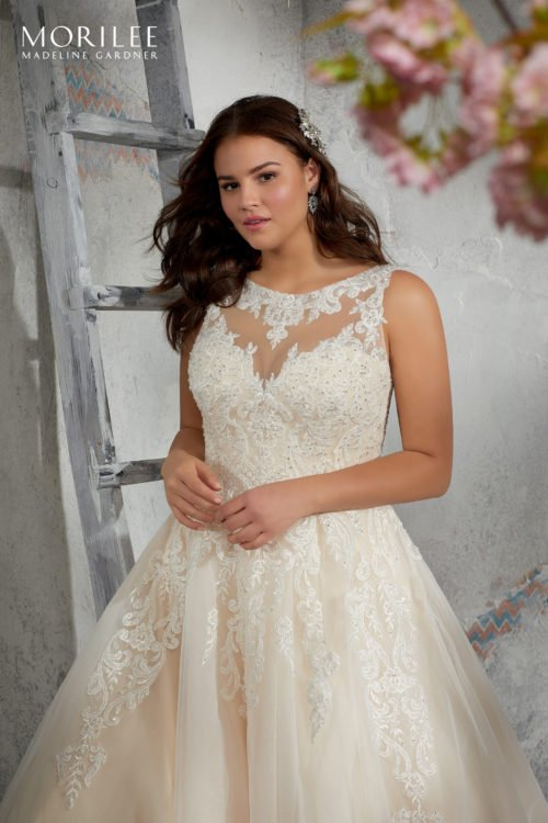 Morilee Leah Wedding Dress style number 3248
