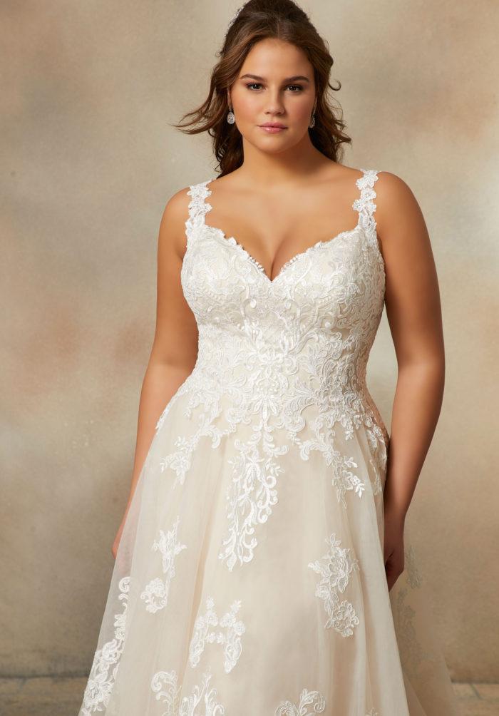 Morilee Paoletta Wedding Dress style number 2020W