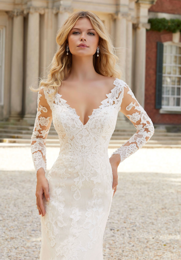 Morilee Pearlina Wedding Dress style number 2022