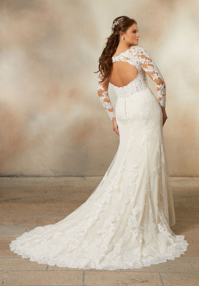 Morilee Pearlina Wedding Dress style number 2022W