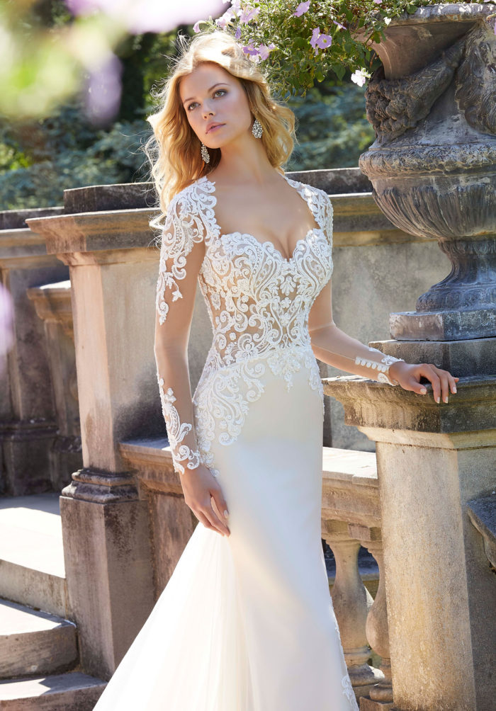 Morilee Phillipa Wedding Dress style number 2027