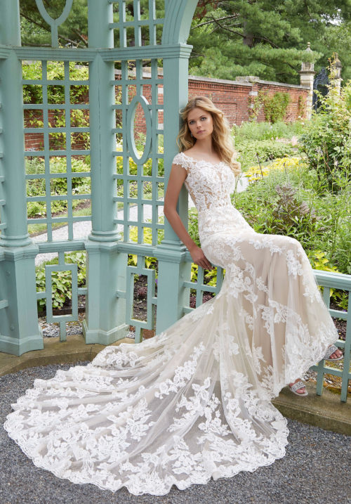 Morilee Parker Wedding Dress style number 2028