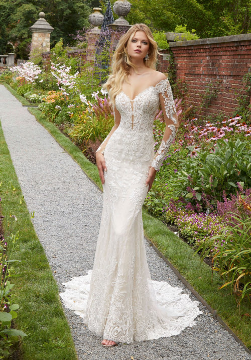 Morilee Pura Wedding Dress style number 2032