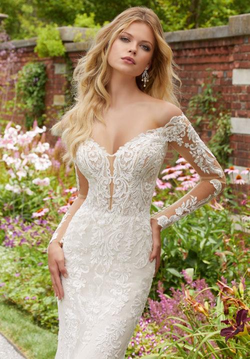 Morilee Pura Wedding Dress style number 2032