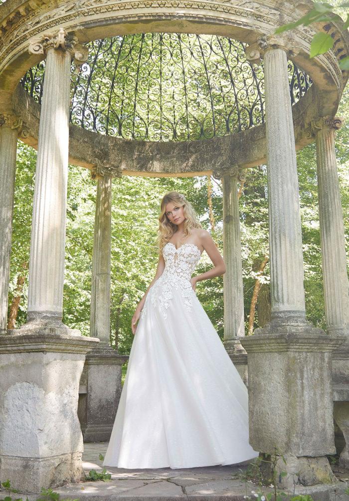 Morilee Pierette Wedding Dress style number 2044