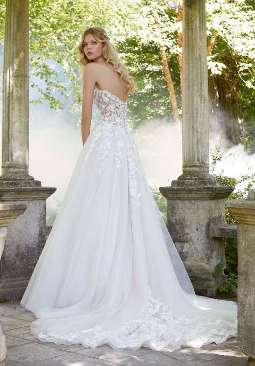 Morilee Pierette Wedding Dress style number 2044