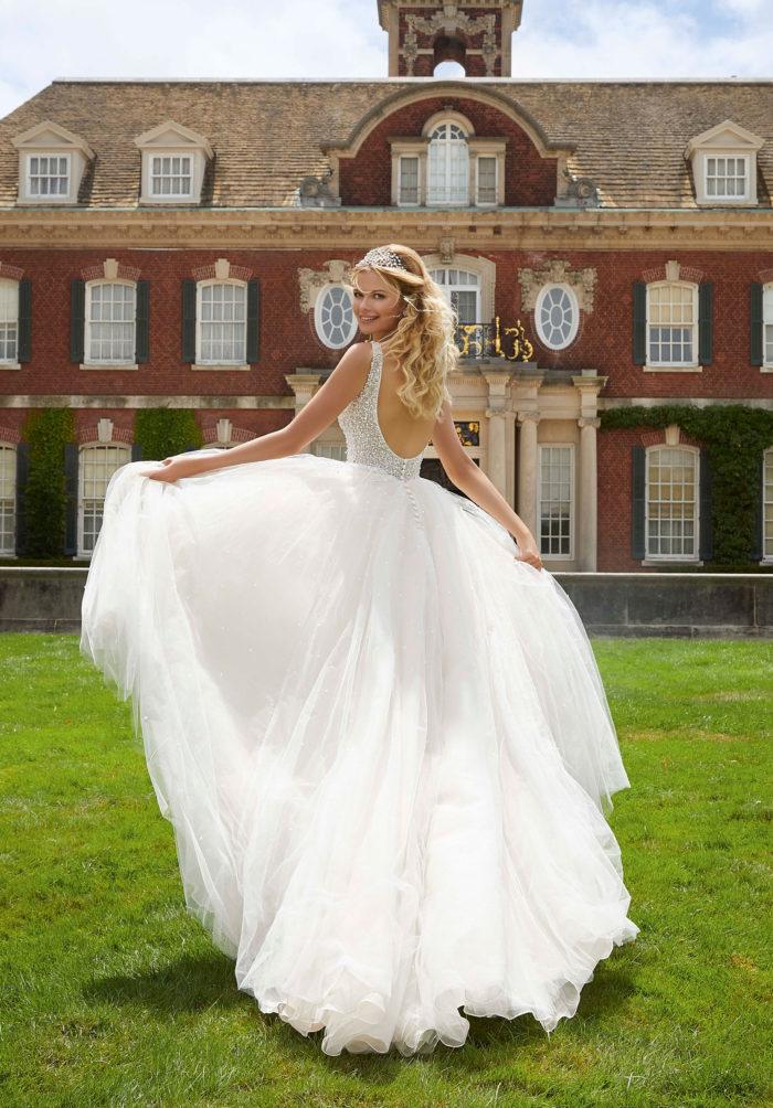 Morilee Paris Wedding Dress style number 2045