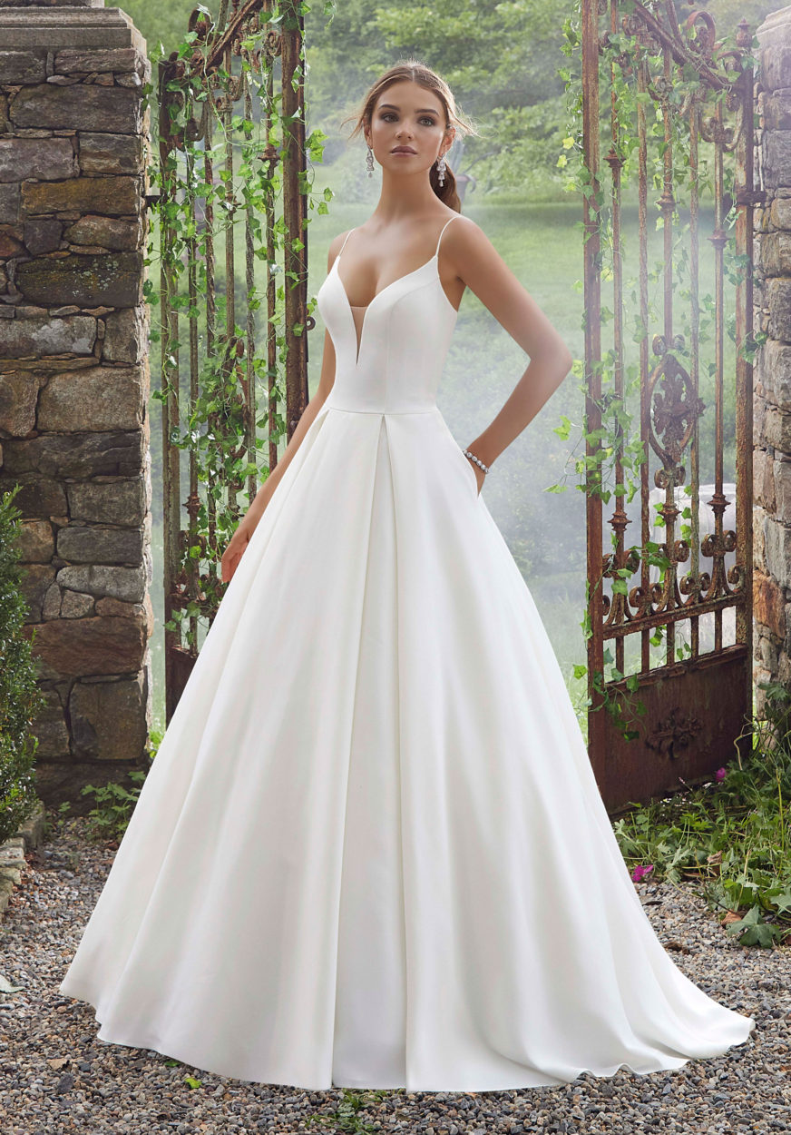 Wedding Dress With Pockets.Morilee Pacifica Wedding Dress Style Number 5706