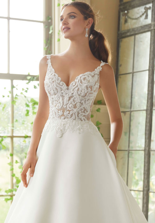 Morilee Petrova Wedding Dress style number 5716