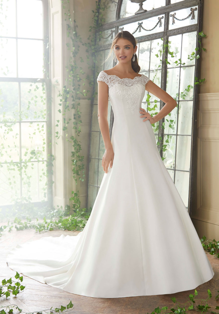 Morilee Phyllis Wedding Dress style number 5717