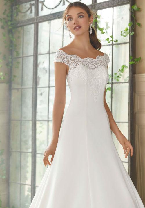 Morilee Phyllis Wedding Dress style number 5717