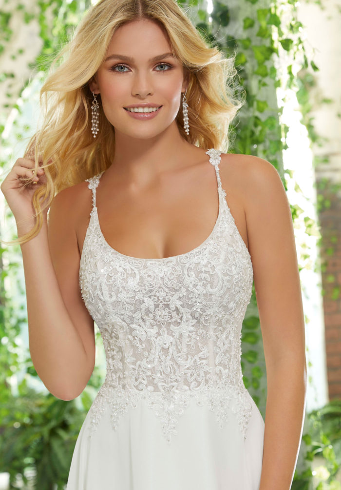 Morilee Piper Wedding Dress style number 6907