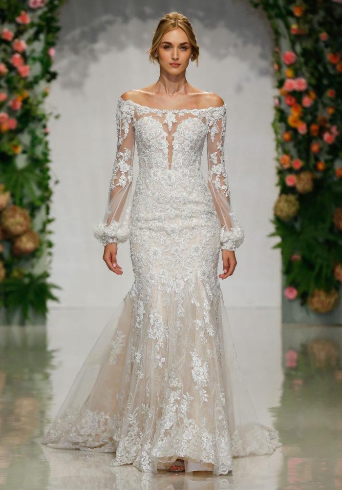 Morilee Petal Wedding Dress style number 2048