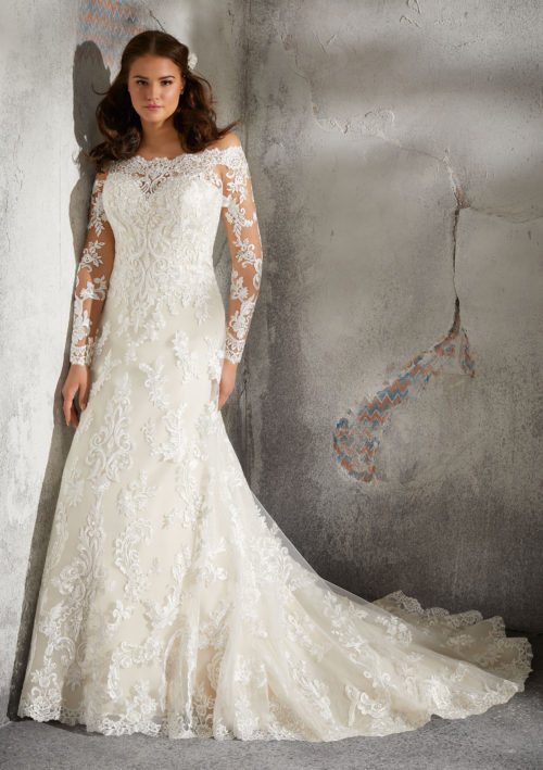 Morilee Luzette Wedding Dress style number 3243