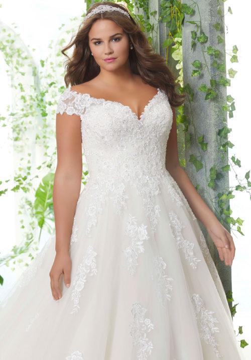 Morilee Pamela Wedding Dress style number 3254