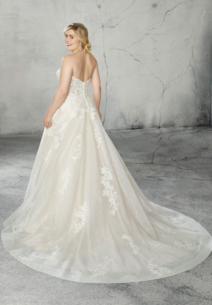 Morilee Romana style 2087W Wedding Dress