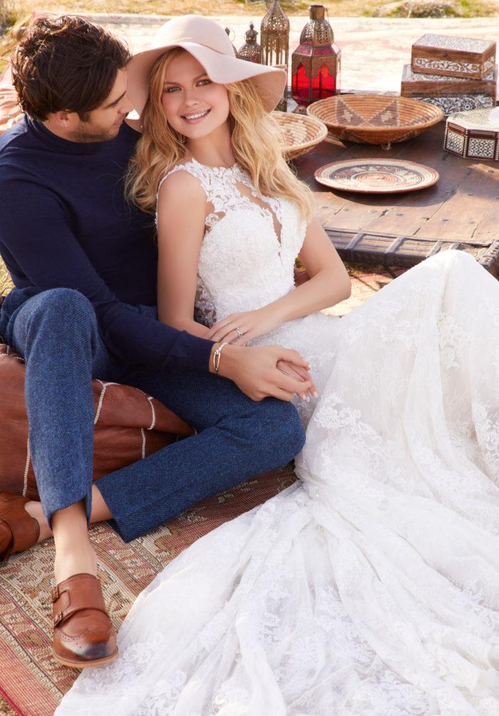 Morilee Riva style 2077 Wedding Dress