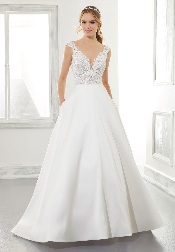 Morilee Adele Style 5867 Wedding Dress