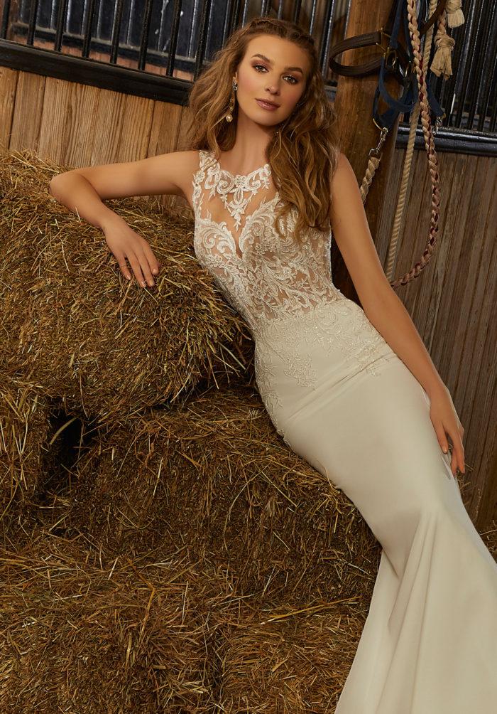 Morilee Rebel Style 6912 Wedding Dress