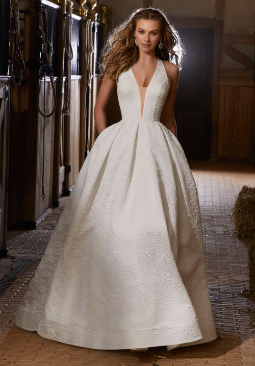 Morilee Rose Style 6918 Wedding Dress