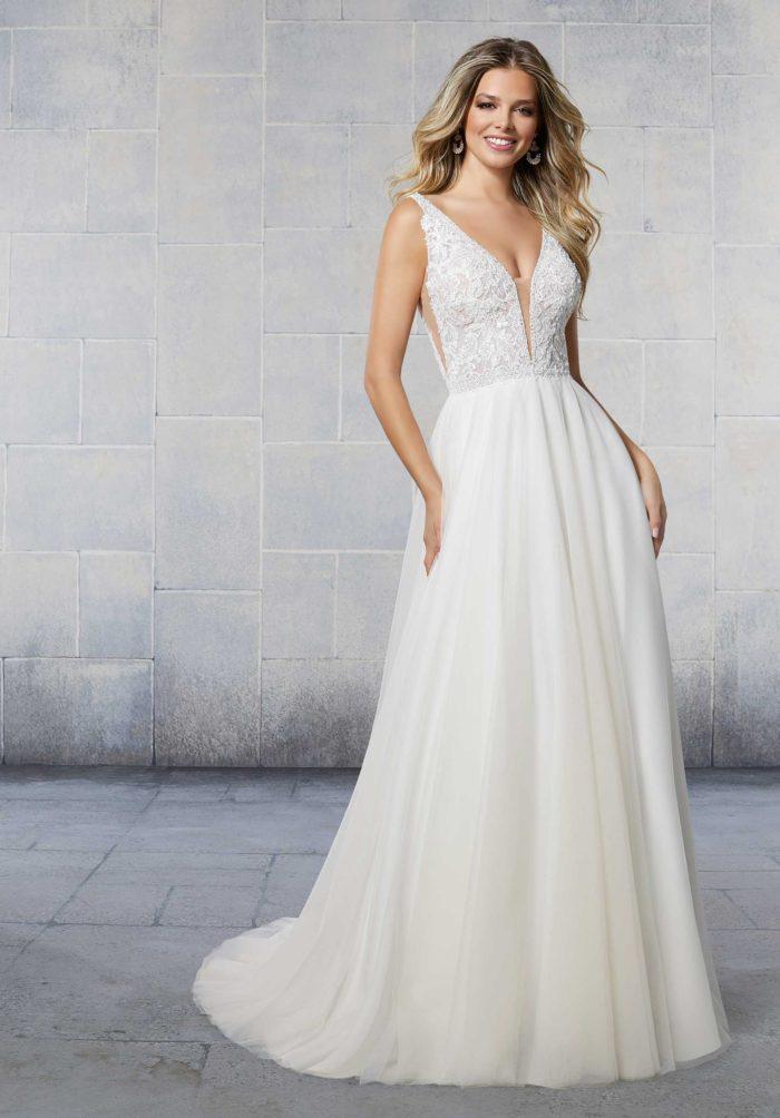 Morilee Sailor Style 6923 Wedding Dress