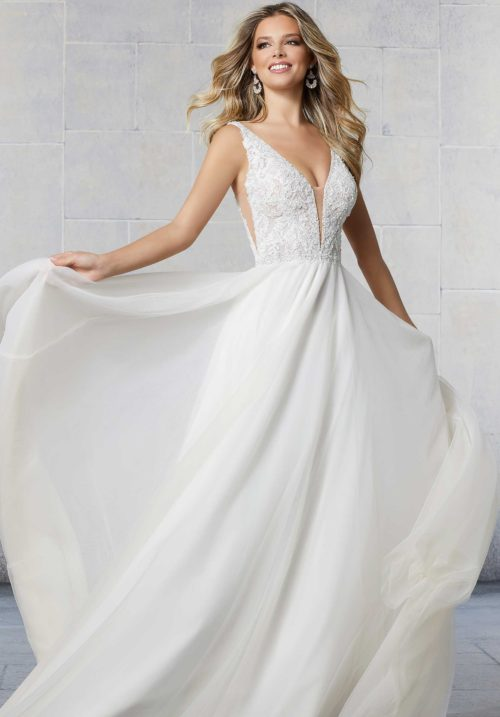 Morilee Sailor Style 6923 Wedding Dress