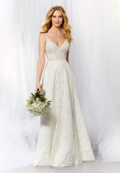 Morilee April Style 6935 Wedding Dress