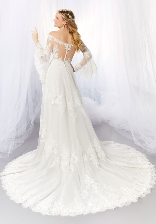 Morilee Abby Style 6938 Wedding Dress